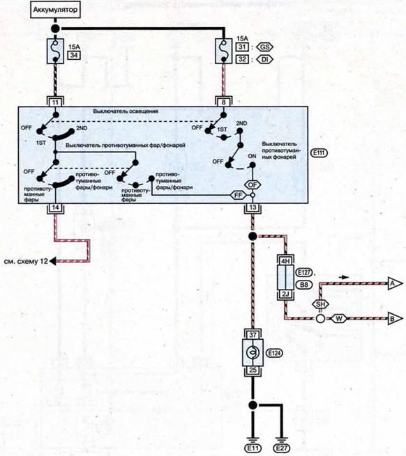 схема двигателя bmw м 40. схемы алгоритмов.